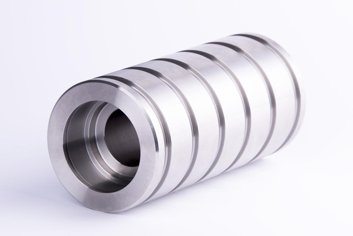Soporte rodamiento en acero inoxidable para el sector siderúrgico