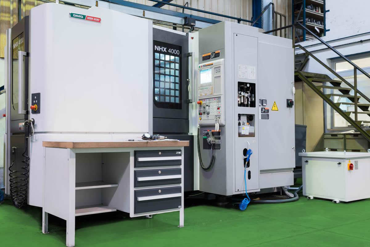 Centro Mecanizado horizontal DMG MORI SEIKI NHX 4000