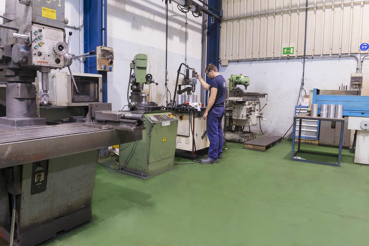 Sección de máquinas manuales
