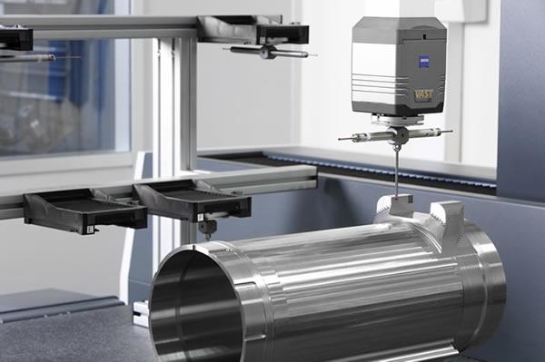 Medimos las piezas que fabricamos con la tridimensional ZEISS CONTURA G2 con cabezal de palpado activo VAST-XT-GOLD