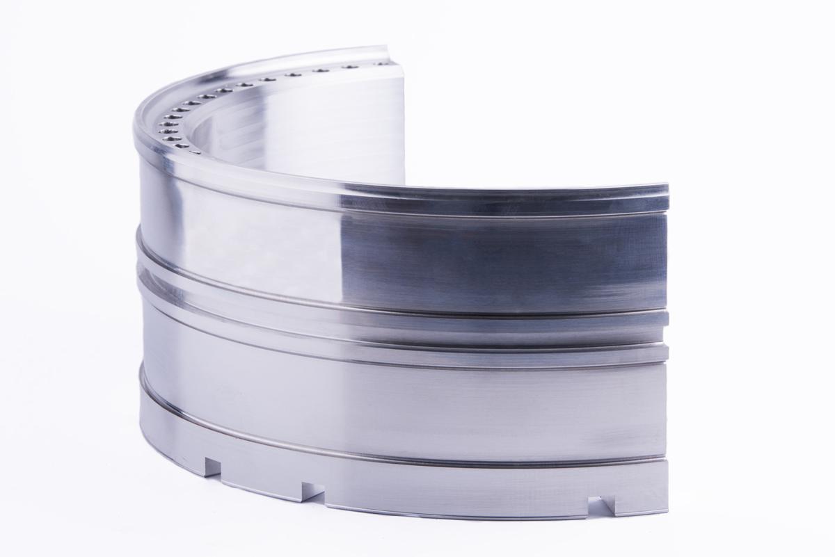 Componente sector aeronáutico en aluminio